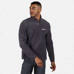 regatta thompson men's half zip fleece rma021 iron