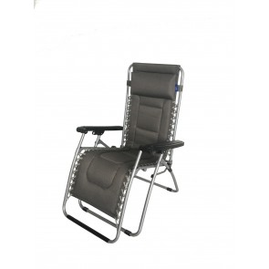 Royal Ambassador Relaxer Chair with Head Rest Garden Camping Caravan R718