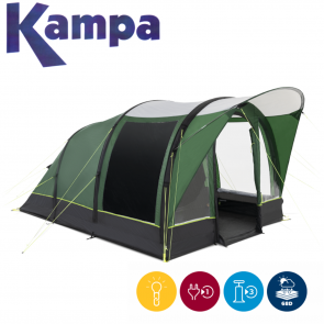 Kampa Brean 4 AIR 4 man person festival fishing inflatable tent 2021 9120001255