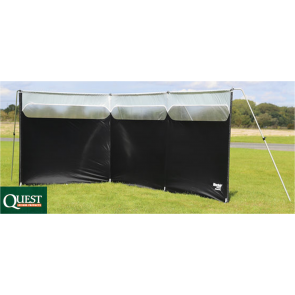 Quest Windshield Pro Expert Edition camping caravan lightweight windbreak A1020