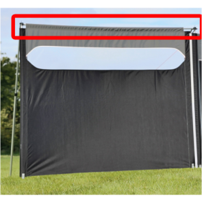 Quest TOP CROSS POLE for Quest Windshield pro expert edition windbreak