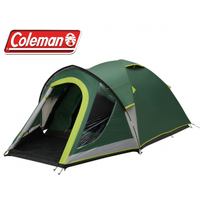 Coleman Kobuk Valley 3 berth person man festival tent with Blackout bedroom