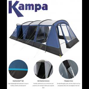 Kampa Croyde 6 poled tent 9120001257