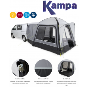 Kampa Cross TG campervan AIR inflatable awning 2021 9120001237