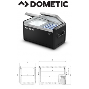 Dometic CFX3 75DZ 65ltr