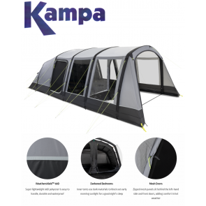kampa hayling 6 air 9120001253