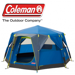 Coleman Octago 3 berth person man WeatherTec family festival tent 2000035194
