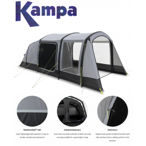 Kampa Hayling 4 AIR 4 berth person man family inflatable tent 9120001254 2021