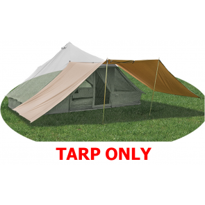 Quest EXTRA LARGE 100% cotton tarp shelter for Quest signature tent A5019