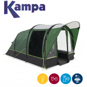 Kampa Brean 3 AIR 3 man person festival fishing inflatable tent 2021 9120001256