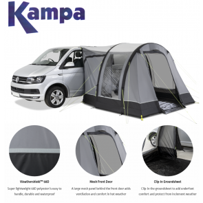 Kampa Trip campervan AIR inflatable awning 2021 9120001239