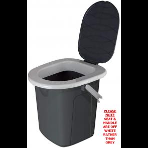 Crusader Toilet portable lightweight 20ltr camping caravan  W420