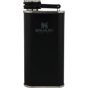 stanley classic 0.23l matte black easy fill mouth flask