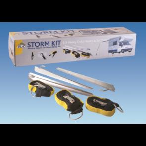 PLS BG400 caravan motorhome standard or wind out awning storm tie down kit