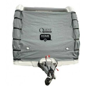 Quest waterproof breathable front towing cover pro SP2112 with LED lights