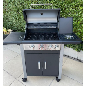 royal leisure outdoor deluxe 3 + 1 gas barbecue w912 2022