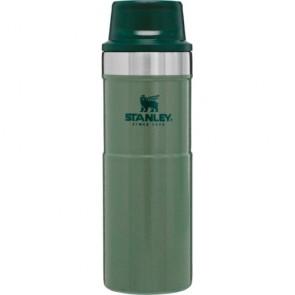 stanley classic trigger action travel mug 0.47lt green