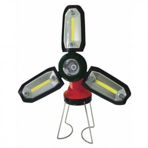 streetwize 3 cob led rechargeable work light swlr25