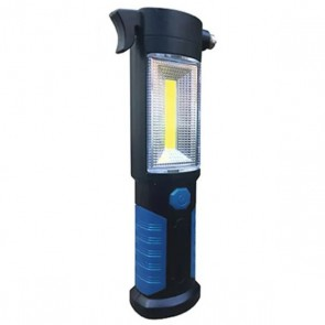 streetwize 3w cob torch/led inc seat belt cutter & emergency hammer swrl28 main