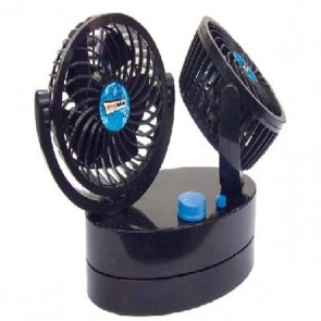 streetwize cyclone 2 twin oscillating fan swcf5