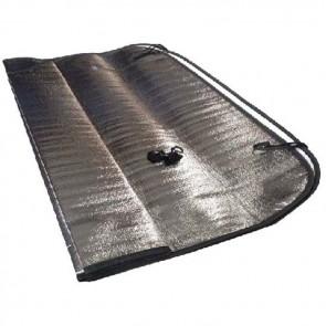 streetwize folding aluminium foil sun shade swfa2