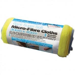 streetwize 6pce microfibre cloth's swcr3