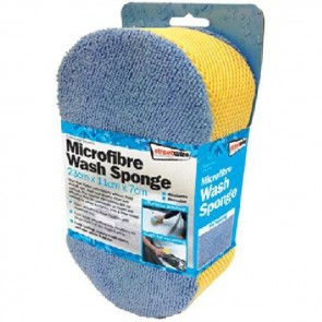 streetwize microfibre wash sponge swcr7