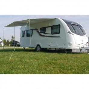 sunncamp sunnshield universal canopy 280 on caravan