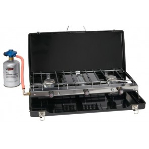Go Systems Trio Dynasty double burner and grill