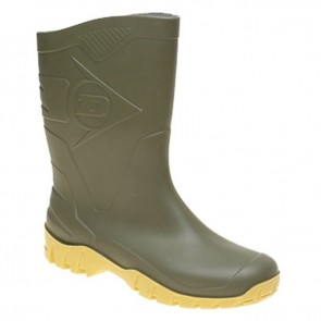 dunlop dee gents ½ length wellie w116e