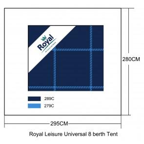 Royal Leisure Universal Luxury 3 Layer Tent Carpet 295cm x 280cm (Fits Buckland 8 ) w481