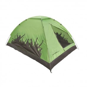 yellowstone carnival festival tent green