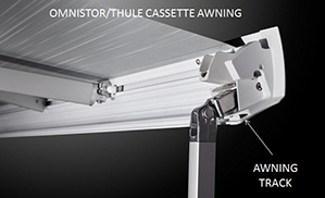 cassette awning attachment